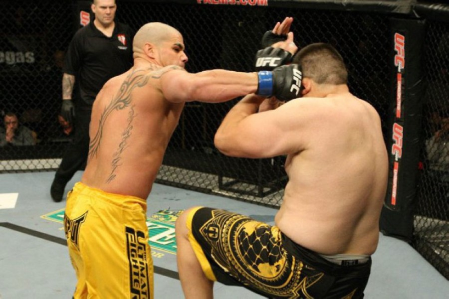 James McSweeney (left) was a UFC fighter for years before he became the part-owner of a mixed martial arts center in Plano. (Courtesy McSweeney Martial Arts)