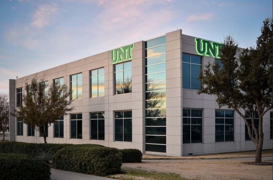 The University of North Texas is one of the higher education institutions with campuses in Frisco. (Courtesy UNT at Frisco)