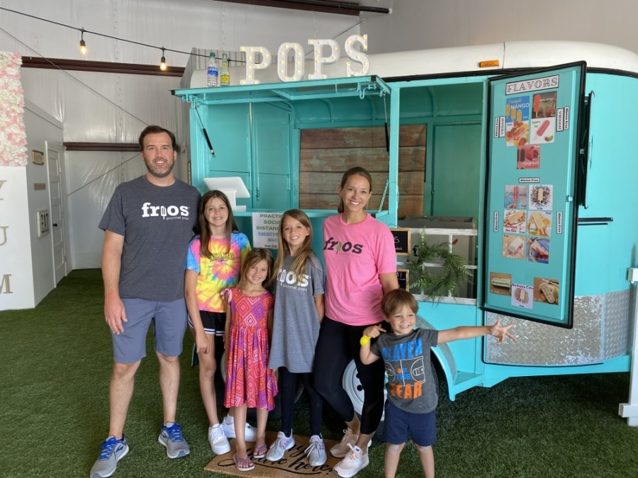 Frios Gourmet Pops of Austin held a ribbon-cutting Aug. 7. (Courtesy Frios Gourmet Pops of Austin)