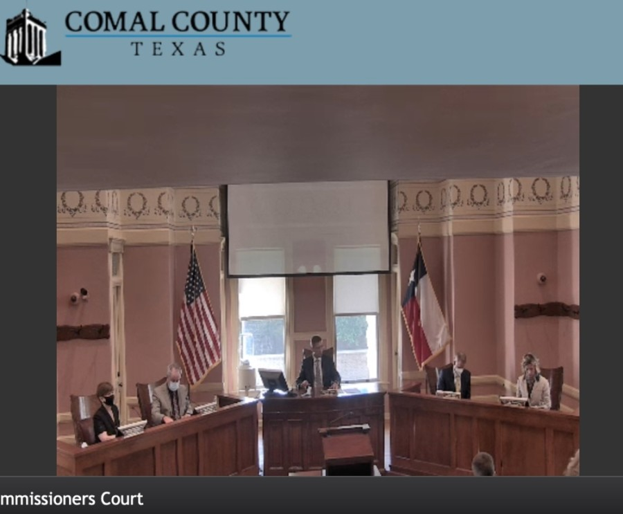 Comal County Commissioners Court got an update on Comal County Jail during the court's Aug. 13 meeting. (Courtesy Comal County Commissioners Court)
