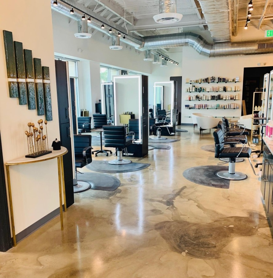 The new East Shore salon will open in The Woodlands later this month. (Courtesy Newcor Commercial Real Estate)