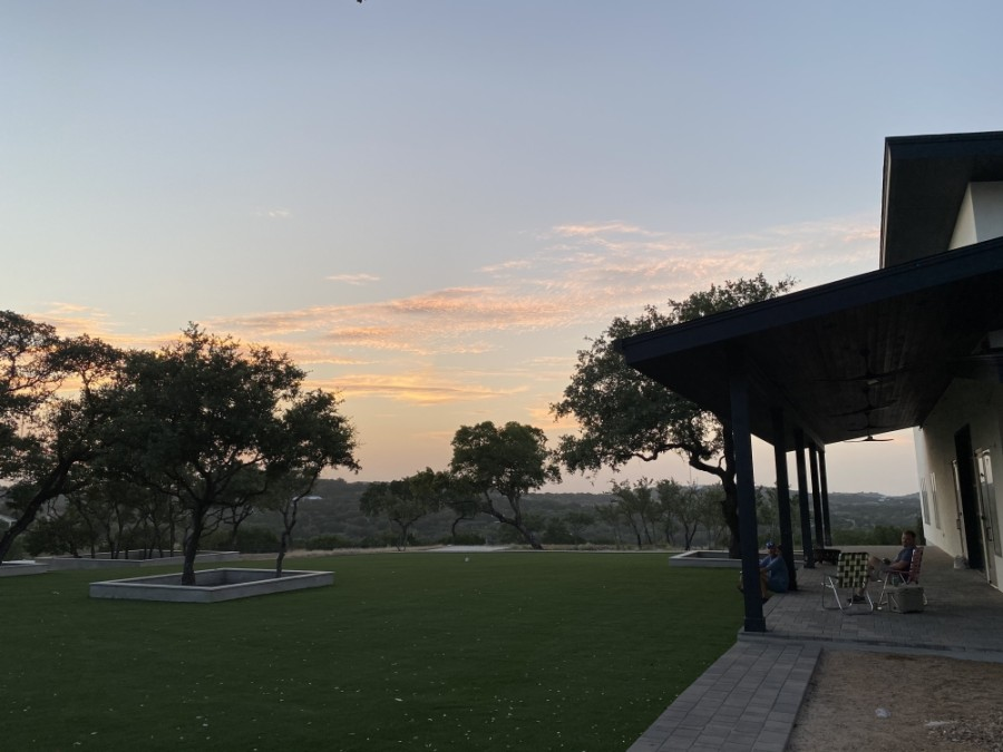 Frontyard Brewing is set to open on a nine-acre plat of land in Spicewood. (Courtesy Chad Worner)