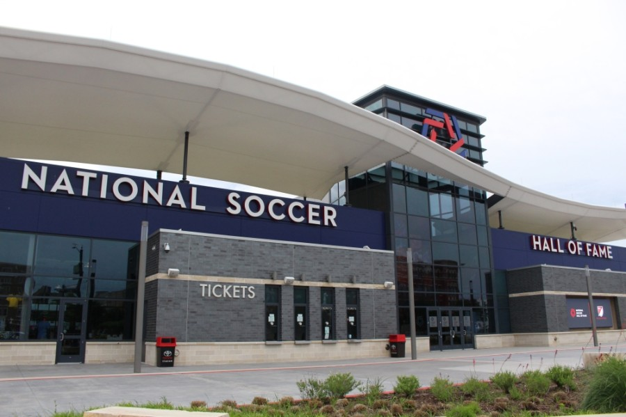 The National Soccer Hall of Fame is among the local facilities pursuing the GBAC STAR Accreditation. (Elizabeth Uclés/Community Impact Newspaper)
