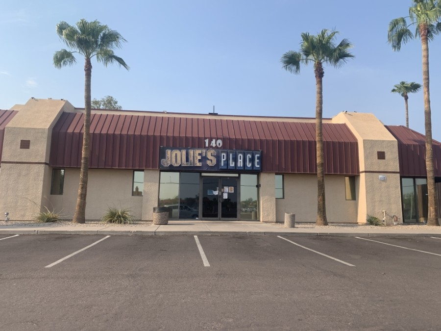 Jolie's Place in Chandler was denied reopening by the Arizona Department of Health Services. (Alexa D'Angelo/Community Impact Newspaper)
