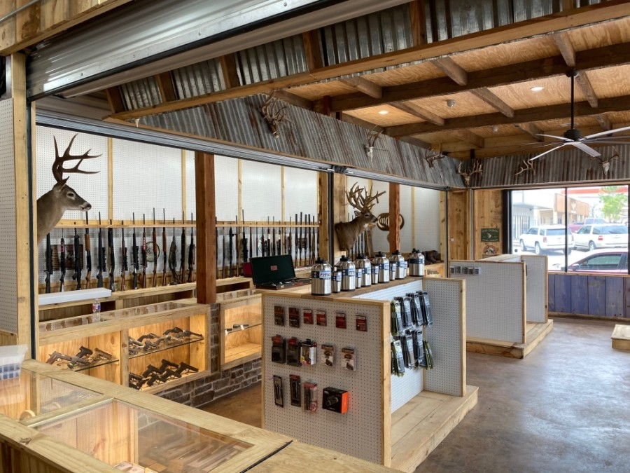 Greg Charney of TX Arsenal in Pinehurst said the custom gun store opened March 3, just before the COVID-19 pandemic, and the growing demand in the industry has helped him build a customer base. The store already has plans to offer training classes this fall. (Courtesy TX Arsenal)