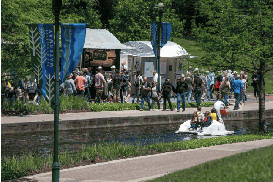 The Woodlands Waterway Arts Festival will be held virtually this year. (Courtesy The Woodlands Arts Council)