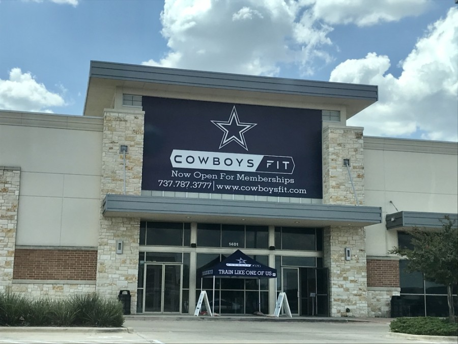 Cowboys Fit Pflugerville will include a cycling studio, basketball court, indoor and outdoor pools, a 40-yard turf and group fitness classes, among other amenities. (Kelsey Thompson/Community Impact Newspaper)