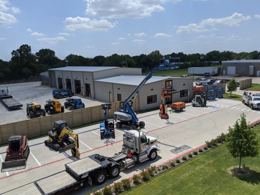 H&E Equipment Services has launched a new branch in McKinney. (Courtesy H&E Equipment Services)
