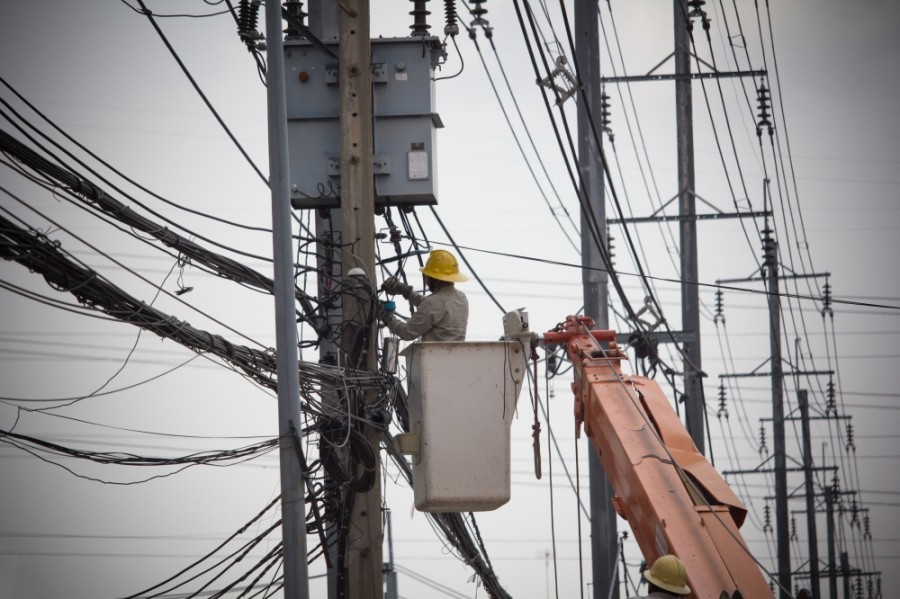 Entergy crews are working to get power restored in Montgomery County. (Courtesy Adobe Stock)