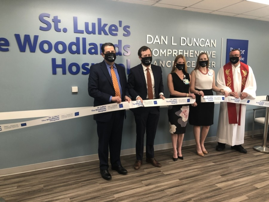 St. Luke's The Woodlands Hospital marked the opening of its new comprehensive cancer center in August. (Courtesy St. Luke's The Woodlands Hospital)
