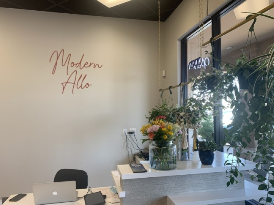 Modern Allo is now open in Chandler. (Alexa D'Angelo/Community Impact Newspaper)