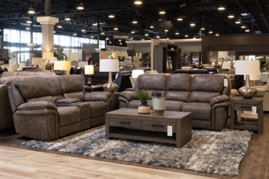 The home furnishings retailer offers collections in living rooms, dining rooms, bedrooms, home offices, outdoor and youth. (Courtesy Living Spaces)
