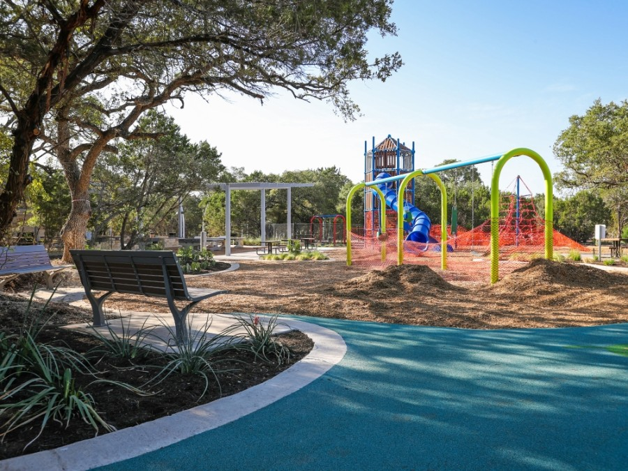 The 125-acre park includes a recreation lawn, picnic areas, an off-leash dog park, a nature trail, lakeside pavilions, kayak rentals and other amenities. (Courtesy city of Leander)