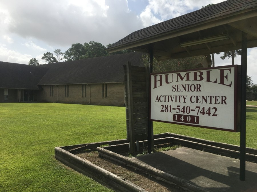 The Humble Senior Activity Center, which provides free services to the area's elderly population, will be demolished by the end of 2020. (Kelly Schafler/Community Impact Newspaper)