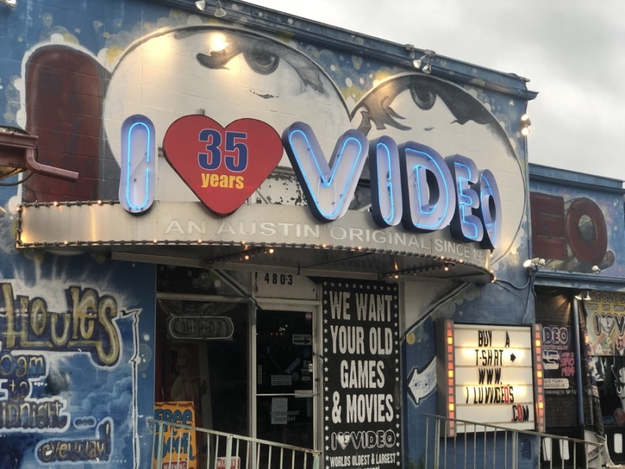 I Luv Video has closed permanently after more than 30 years in Austin. (Jack Flagler/Community Impact Newspaper)