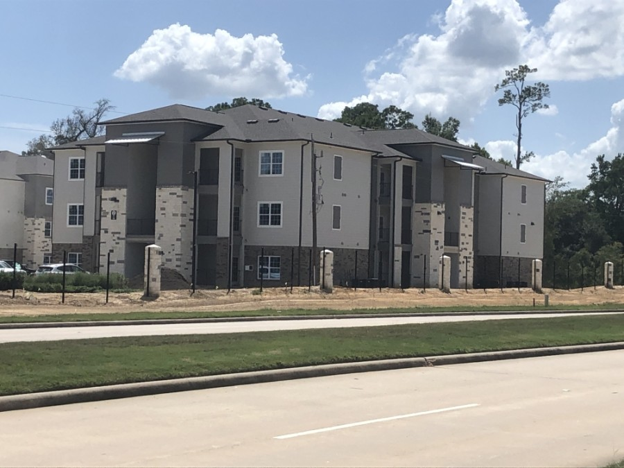 Landmark at Auburn Lakes expects residents to move in Sept. 9. (Andrew Christman/Community Impact Newspaper)