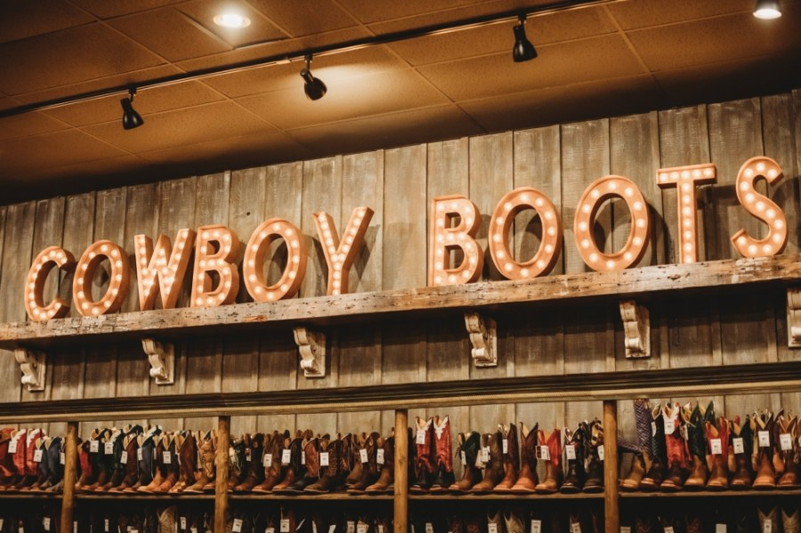 The new storefront will offer a wide selection of Western wear for men, women and children in addition to boots, hats, accessories, work wear, gifts and home decor. (Courtesy Cavender's Boot City)