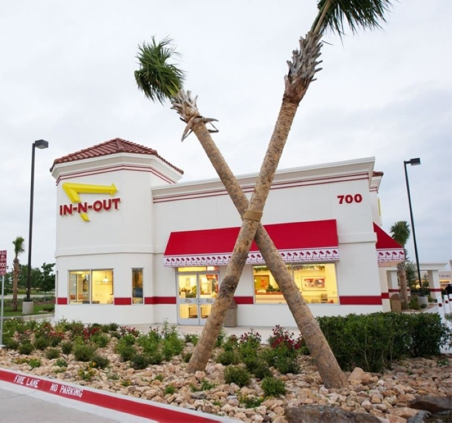 "First announced in April 2019, the long-anticipated Willowbrook restaurant will serve the brand's signature hamburgers, shakes and french fries, which will also be available ""animal style."" (Courtesy In-N-Out Burger)"