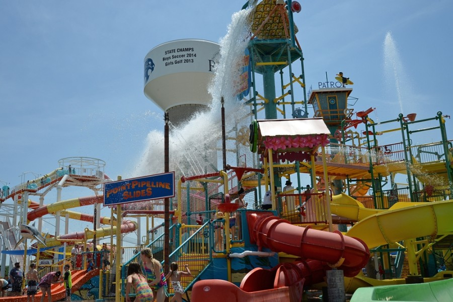Hawaiian Falls water park in Roanoke will be open from 11 a.m. to 5 p.m. Sept. 12-13 with select attractions available to patrons. (Courtesy Hawaiian Falls)