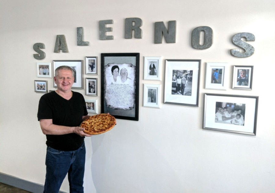 Ross Salerno, Salerno's Restaurant and Pizzeria