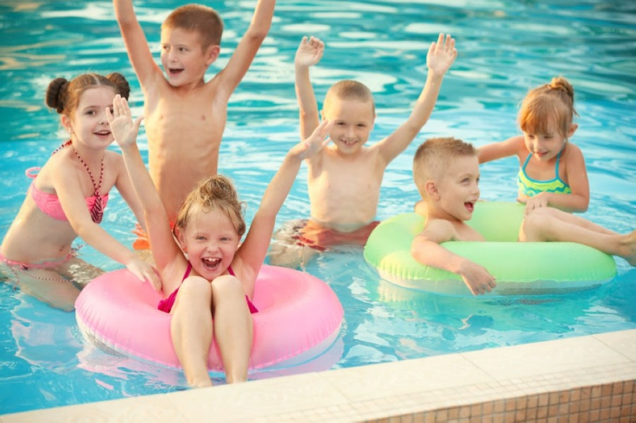 Galveston County has a high concentration of residential pool owners in a relatively small area, Pool Scouts President Michael Wagner said. (Courtesy Water Champs Swim School)