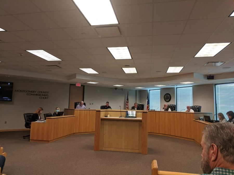 Montgomery County commissioners met Sept. 8 for a regular and special court session. (Eva Vigh/Community Impact Newspaper)
