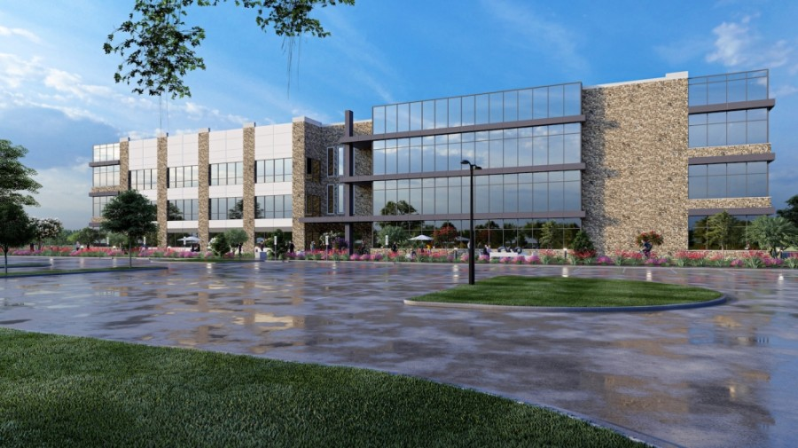 RPM xConstruction is building a new headquarters in McKinney. (Rendering courtesy RPM xConstruction)