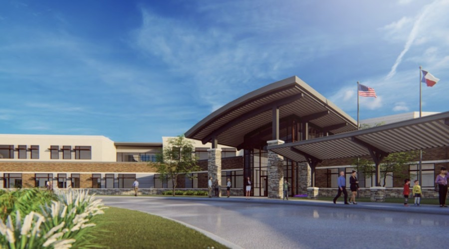 The as-yet-unnamed Elementary School No. 30 will be designed much like Lakeland Elementary School in that it will feature a play-based learning design and numerous flexible spaces. (Rendering courtesy Humble ISD)