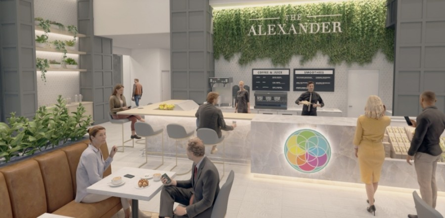 The Alexander and The Johnathan will be complete in December, according to the developer. (Courtesy George Oliver)