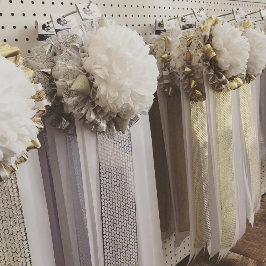 Magnolia-based MUMtastic Homecoming Store specializes in customized homecoming mums, garters and other school spirit items. (Courtesy MUMtastic Homecoming Store)