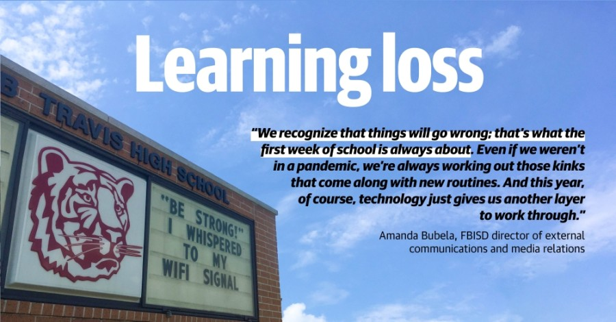 FBISD Superintendent Charles Dupre said district officials believe it will take two years to remedy the learning loss that happened when school closed for nine weeks at the end of the 2019-20 school year. (Tessa Hoefle/Community Impact Newspaper)
