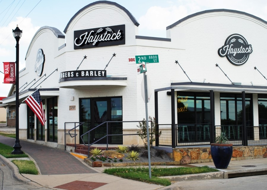 Haystack Burgers & Barley is located in Frisco's Rail District on Main Street. (Courtesy Haystack Burgers & Barley)