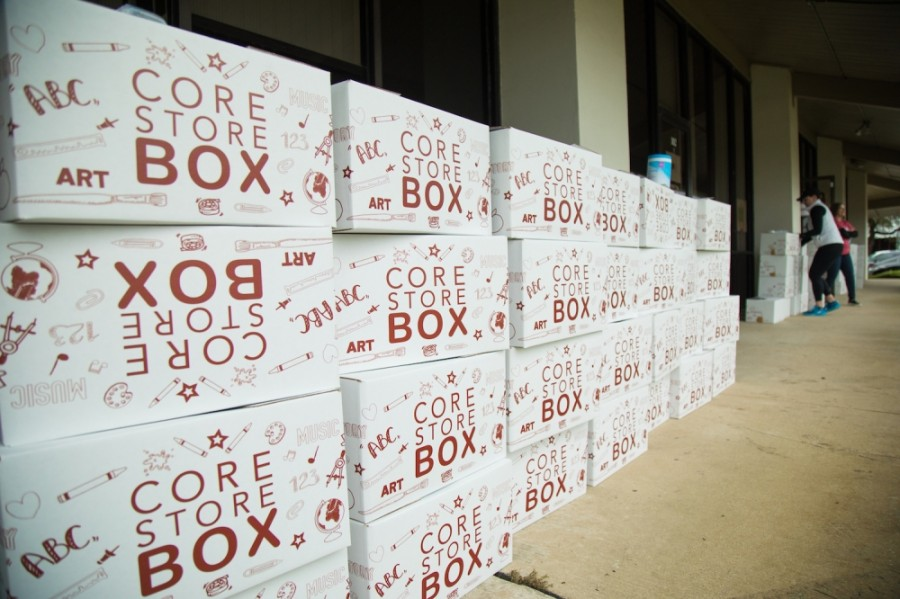 The CORE Store provides additional school supplies for classrooms. (Courtesy Plano ISD Education Foundation)
