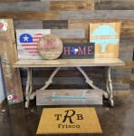 The Rustic Brush offered family-friendly, do-it-yourself workshops to create home decor projects. (Courtesy The Rustic Brush)