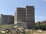 Springhill Suites is under construction in Cool Springs. (Photos by Wendy Sturges/Community Impact Newspaper)