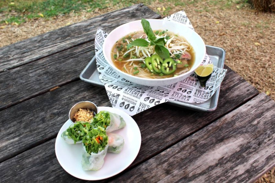 Vui's Kitchen features a variety of Vietnamese dishes, including small bites, entrees and desserts. (Community Impact staff)