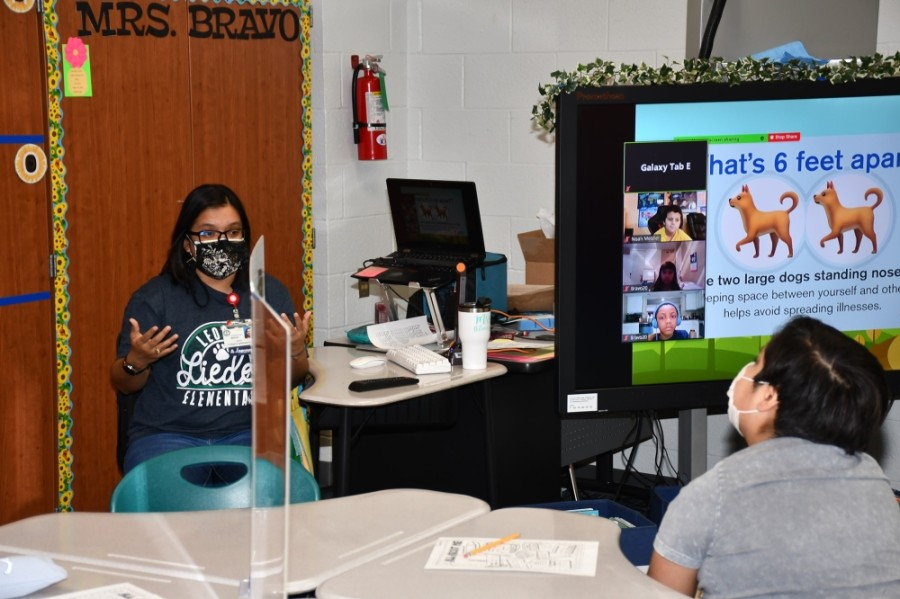 Cy-Fair ISD reopened for virtual and in-person classes Sept. 8. (Courtesy Cy-Fair ISD)