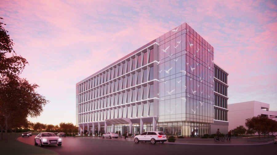 McCord Development will begin construction on Generation Park's first medical office building in 2021. (Rendering courtesy Generation Park)