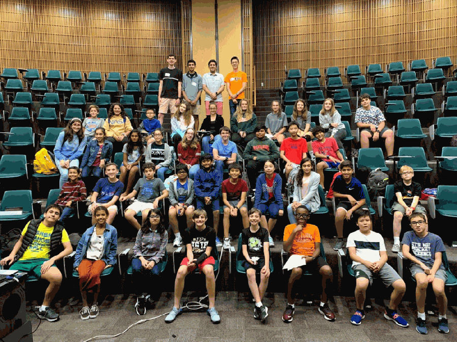 Dozens of Conroe ISD junior high students have participated in seminars hosted by CISD seniors through the organization. (Courtesy Teach 2 Learn)