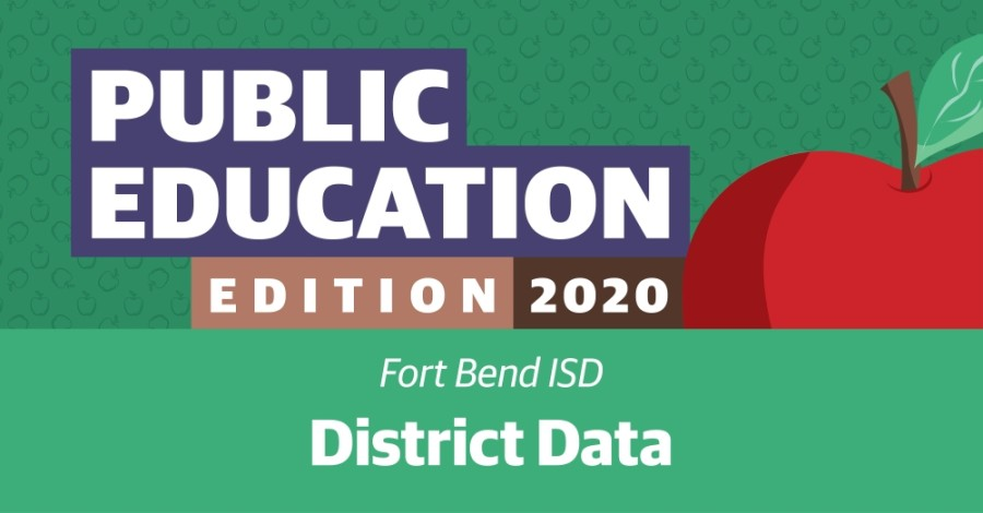 Explore Fort Bend ISD's enrollment numbers, teacher statistics, superintendent salary and more. (Graphic by Chase Brooks/Community Impact Newspaper)