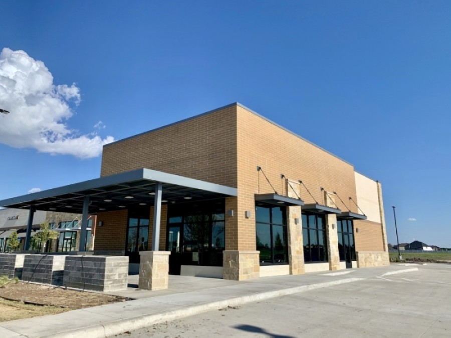 The upcoming Starbucks location will open along US 380 in Frisco. (Courtesy Starbucks)