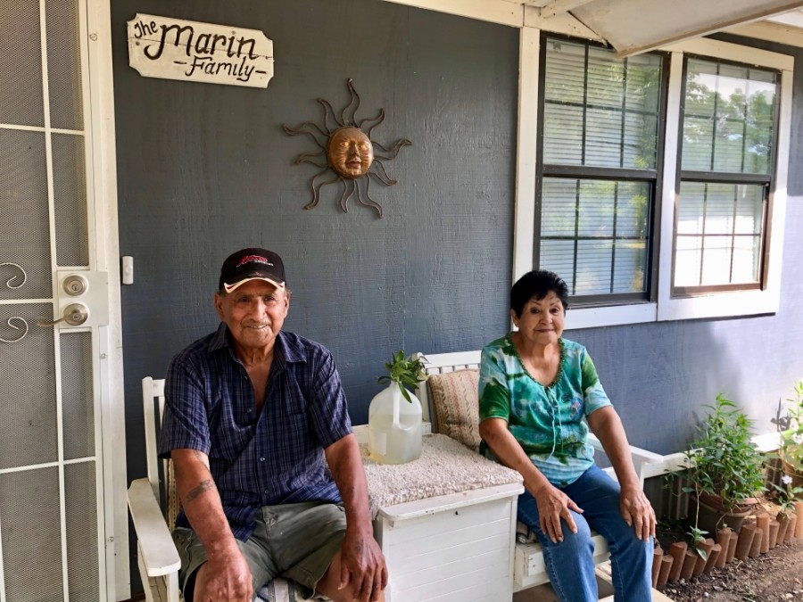 Enrique Marin moved to the San Jose neighborhood in 1958 after he met and married Julia, who was raised there. (Sally Grace Holtgrieve/Community Impact Newspaper)