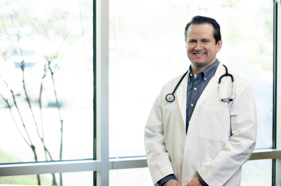 Dr. Sam Rolon is a physician for Baylor St. Luke's Medical Group Creekside Family Medicine in The Woodlands. (Courtesy St. Luke's Health)