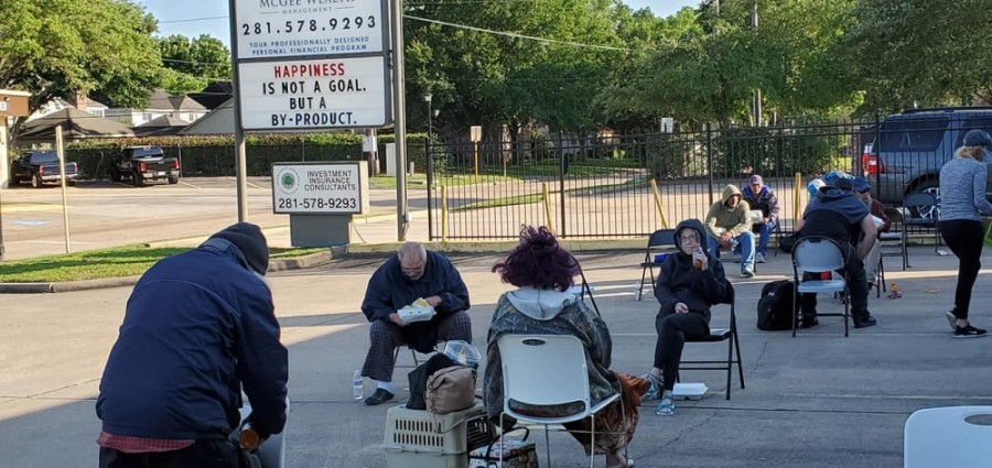 Hope Impacts has expanded its services to the Richmond and Rosenberg areas and is operating from an open space in their parking lot in order to follow CDC guidelines. (Courtesy Hope Impacts)