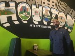 Jorge Rodriquez, owner of Tex-Mex Grill and Bar, said he wanted his love of Houston to be on display at his restaurant. (Shawn Arrajj/Community Impact Newspaper)