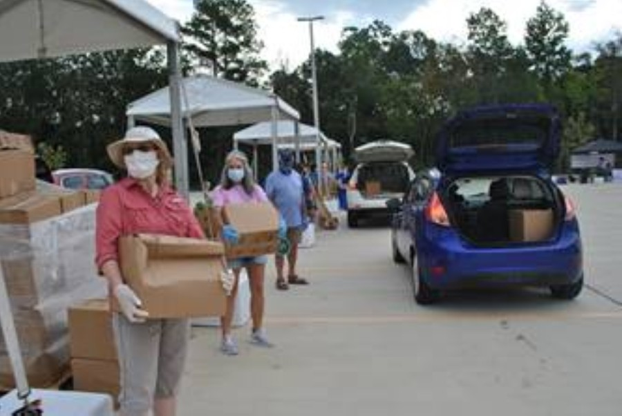 The first food distribution event at the new location will take place Sept. 22 from 9 a.m.-1 p.m. or until supplies last. Food giveaways will take place twice per month thereafter. (Courtesy Northwest Assistance Ministries)