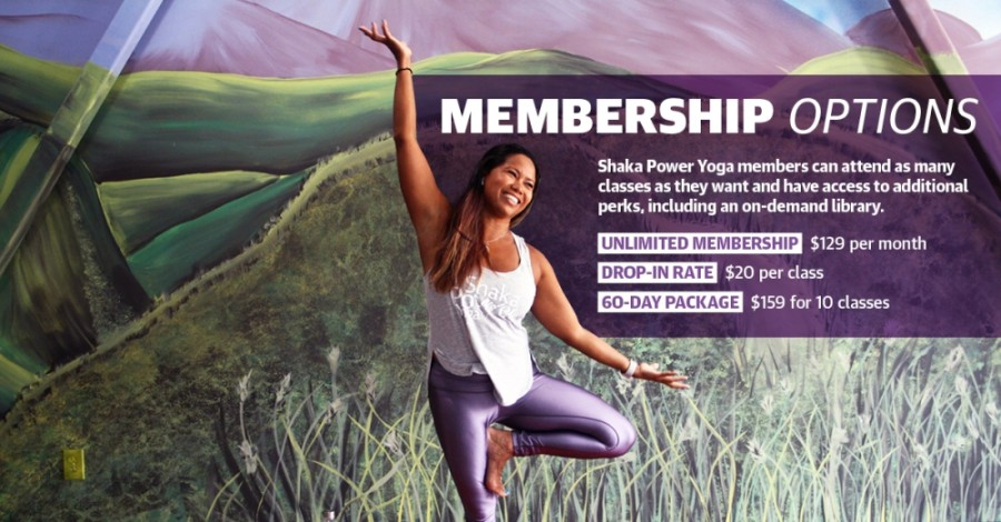 Jenny Normand owns and operates Shaka Power Yoga in Bridgeland. (Danica Lloyd/Community Impact Newspaper)