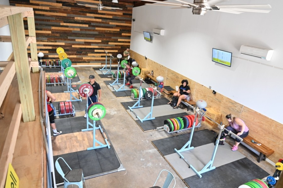 South Austin-based gym Austin Barbell relocated to a new space Sept. 10.  (Courtesy Austin Barbell)