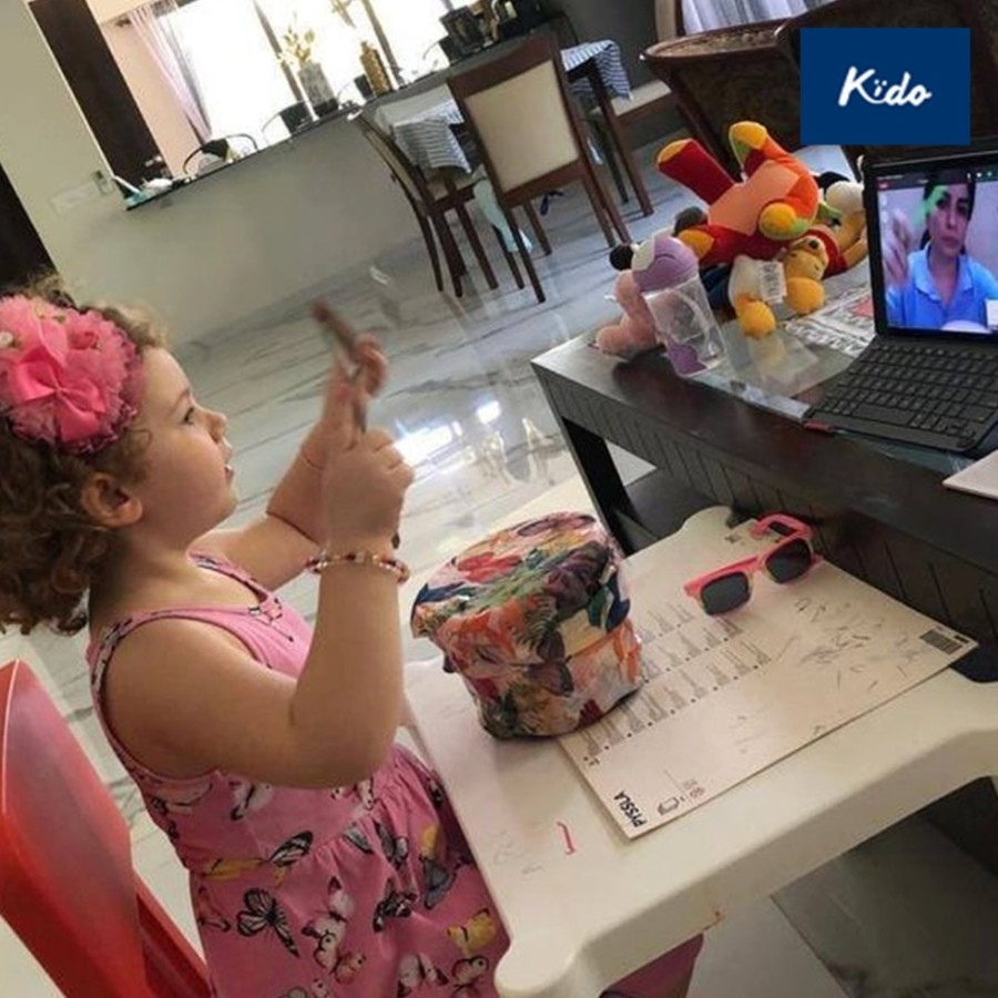 Kido Home launched in late August offering preschool classes in a virtual setting. (Courtesy Kido)