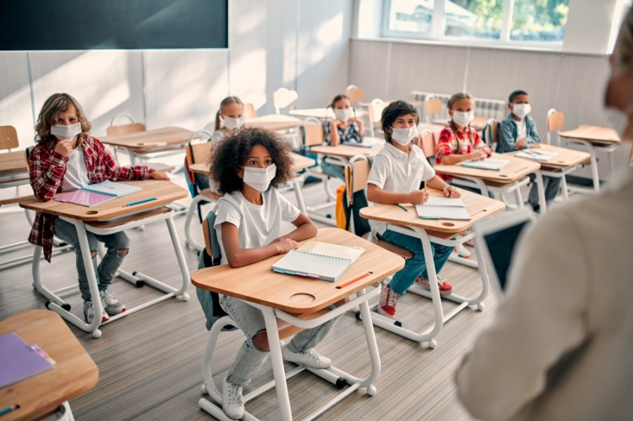 Chandler USD released its COVID-19 data dashboard last week, and students in kindergarten through second grade went back to their brick-and-mortar classrooms. (Courtesy Adobe Stock)